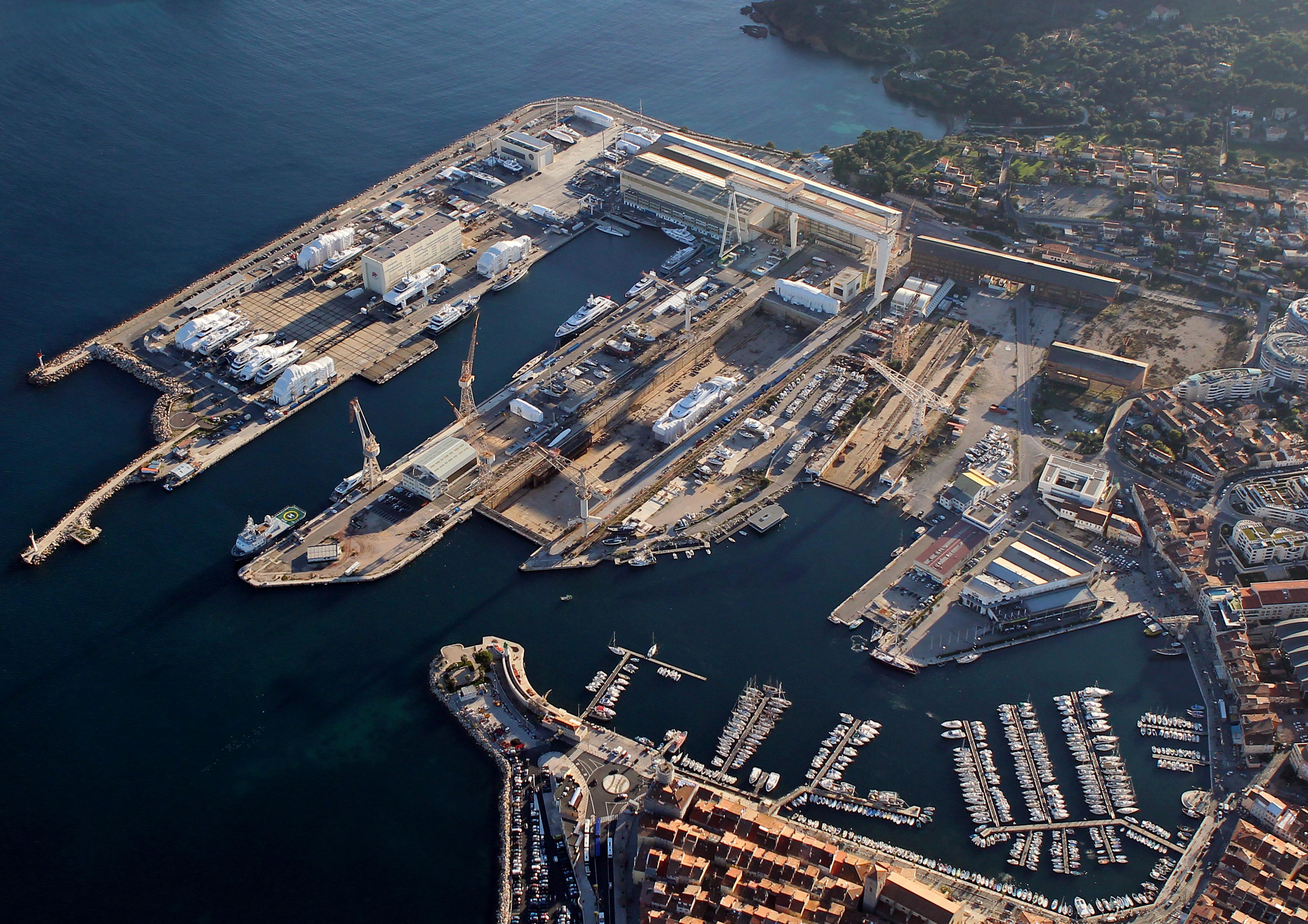 Chantiers navals La Ciotat février 2020